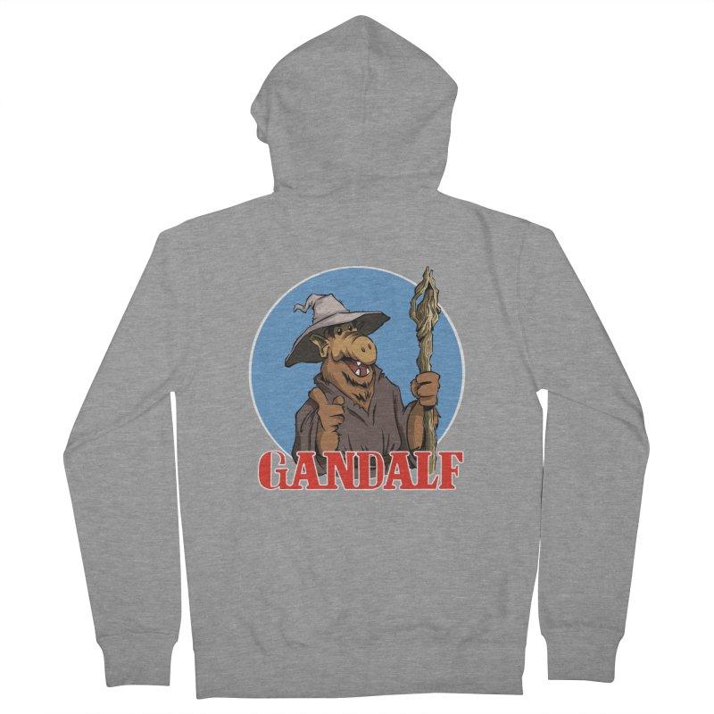GandAlf Men's Zip-Up Hoody by westinchurch's Artist Shop