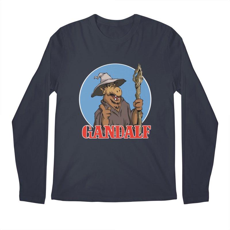 GandAlf Men's Longsleeve T-Shirt by westinchurch's Artist Shop