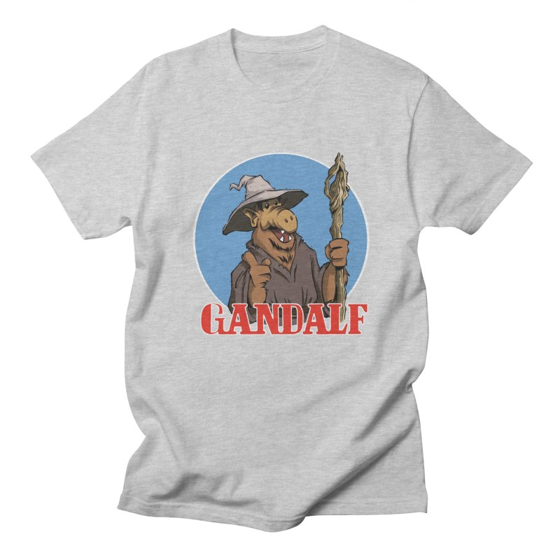 GandAlf Men's T-Shirt by westinchurch's Artist Shop