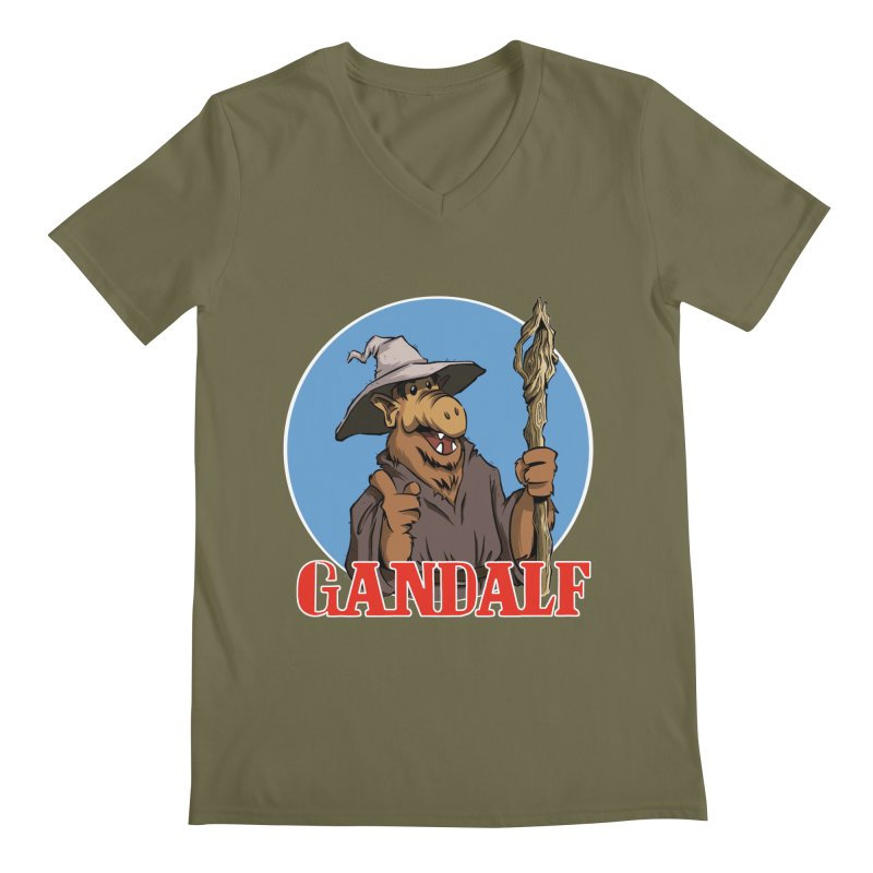 GandAlf Men's V-Neck by westinchurch's Artist Shop