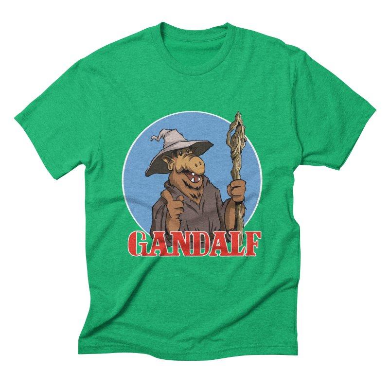 GandAlf Men's Triblend T-shirt by westinchurch's Artist Shop