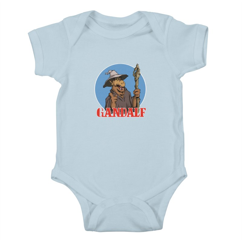 GandAlf Kids Baby Bodysuit by westinchurch's Artist Shop