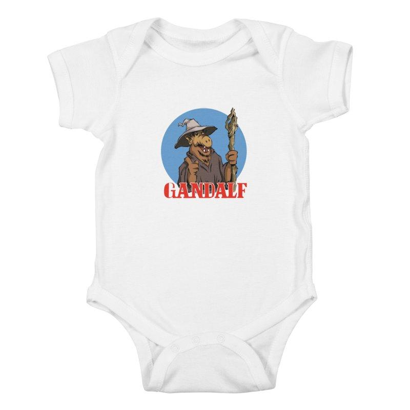 GandAlf Kids Baby Bodysuit by westinchurch's Artist Shop