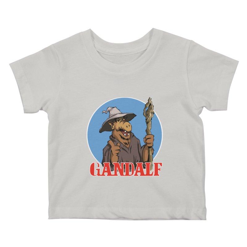 GandAlf Kids Baby T-Shirt by westinchurch's Artist Shop