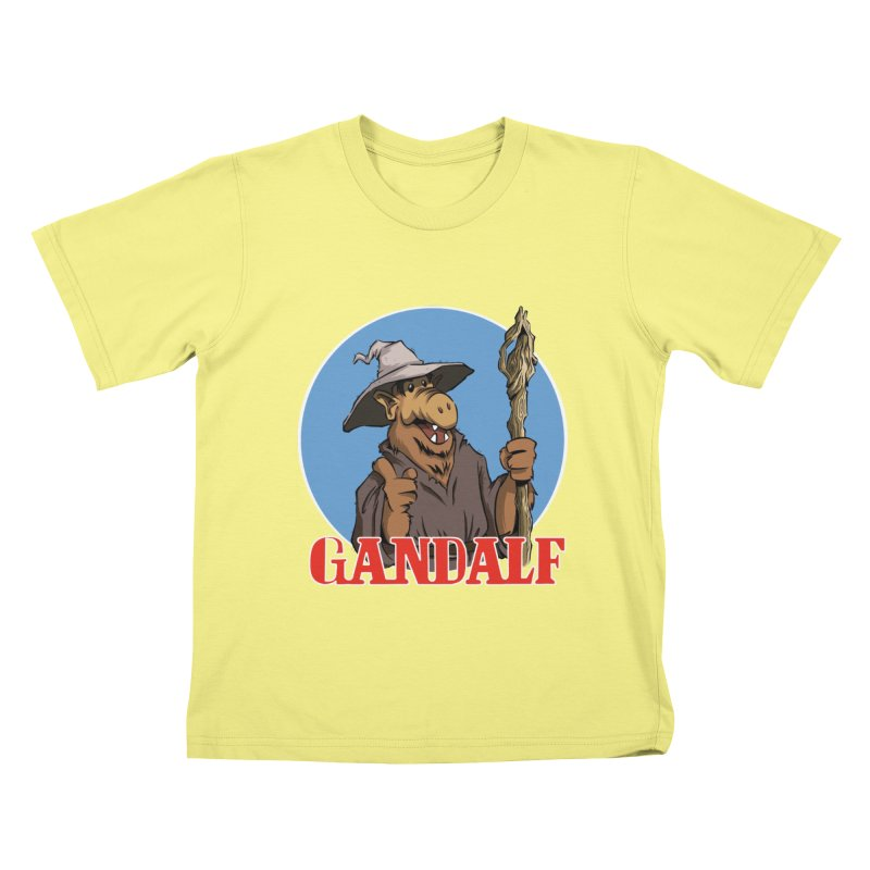 GandAlf Kids T-shirt by westinchurch's Artist Shop