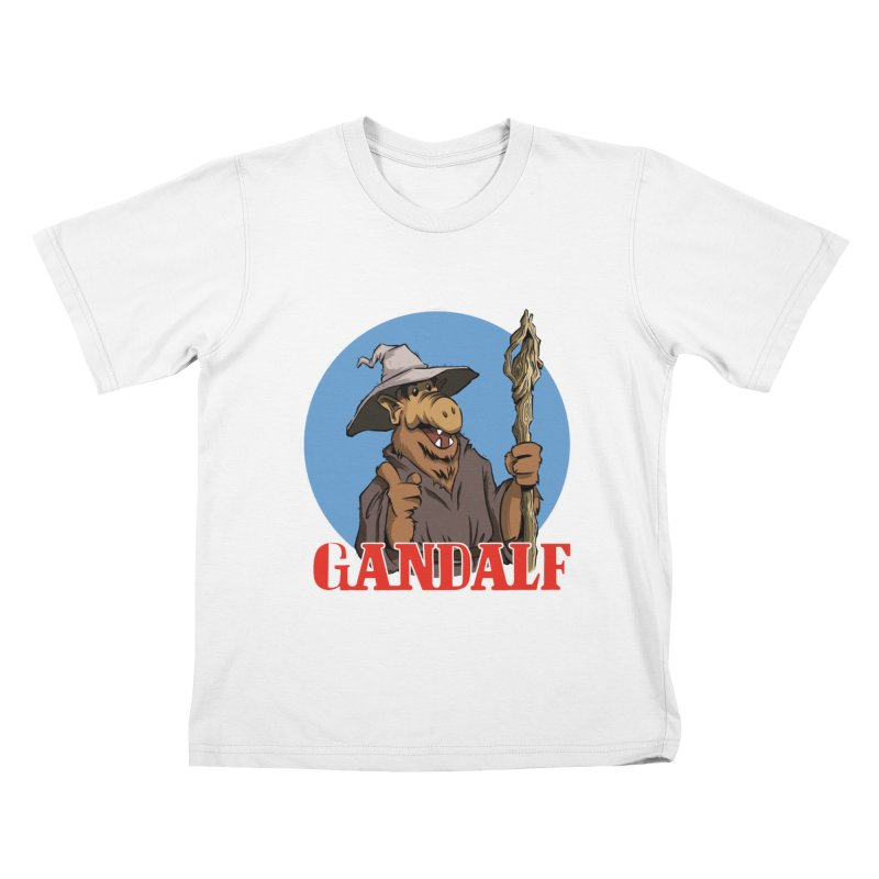 GandAlf Kids T-Shirt by westinchurch's Artist Shop