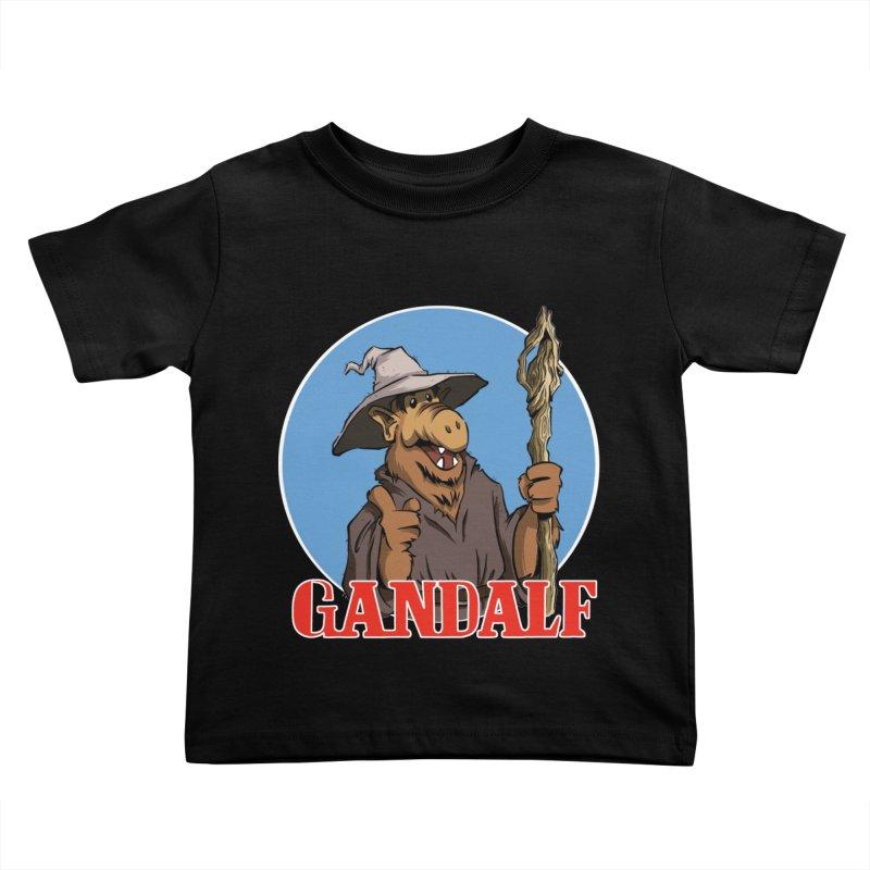 GandAlf Kids Toddler T-Shirt by westinchurch's Artist Shop