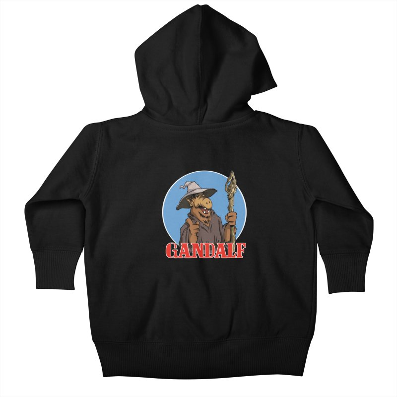 GandAlf Kids Baby Zip-Up Hoody by westinchurch's Artist Shop