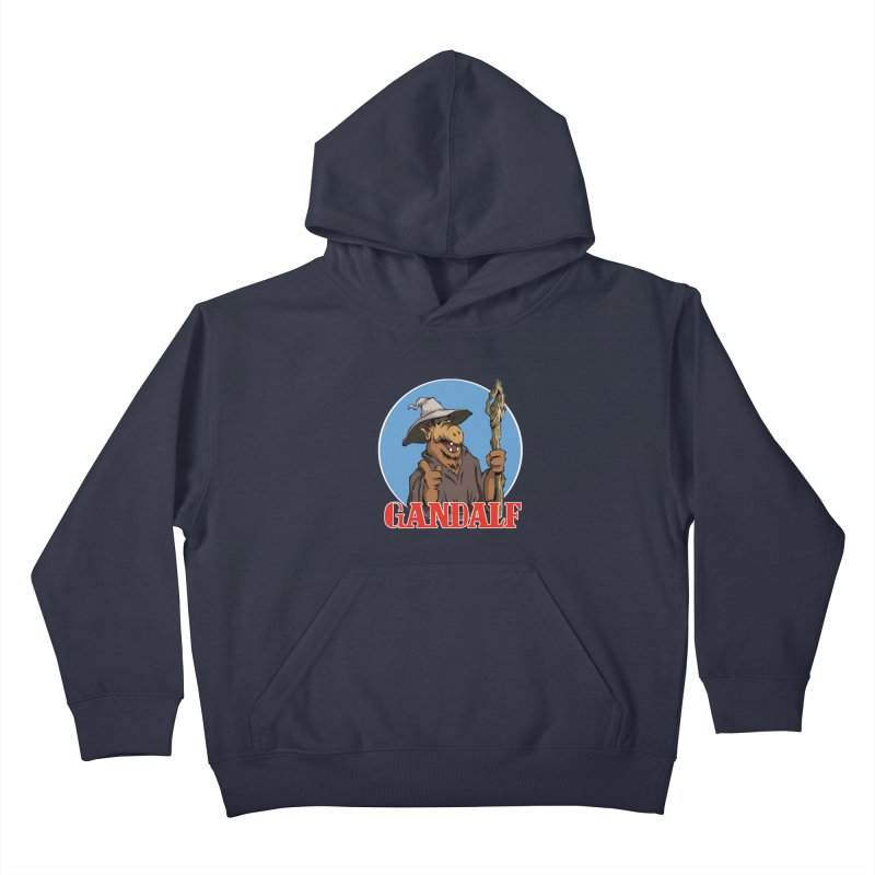 GandAlf Kids Pullover Hoody by westinchurch's Artist Shop