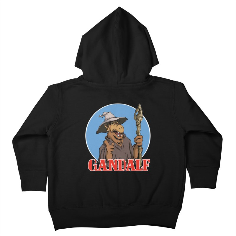 GandAlf Kids Toddler Zip-Up Hoody by westinchurch's Artist Shop