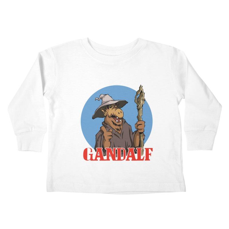 GandAlf Kids Toddler Longsleeve T-Shirt by westinchurch's Artist Shop