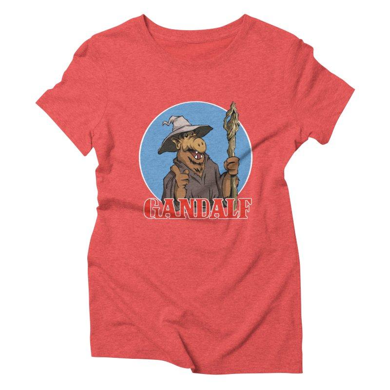 GandAlf Women's Triblend T-shirt by westinchurch's Artist Shop