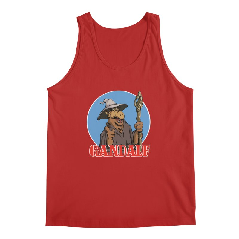 GandAlf Men's Tank by westinchurch's Artist Shop