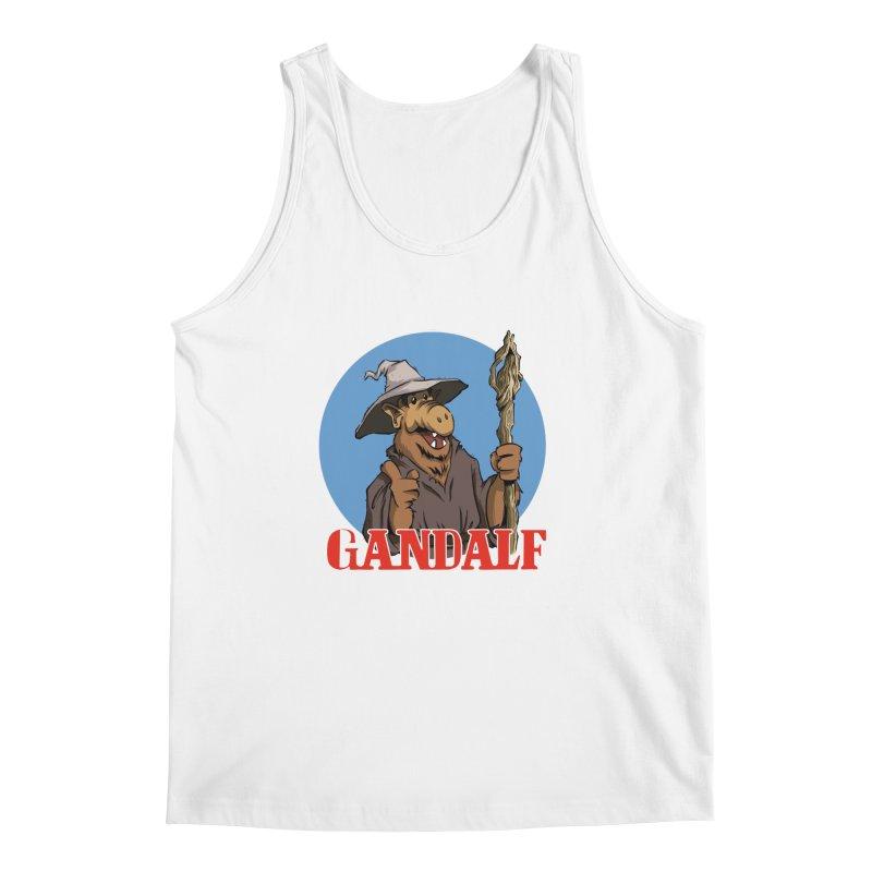 GandAlf Men's Tank by westinchurch's Artist Shop