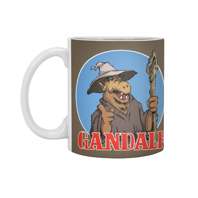 GandAlf Accessories Mug by westinchurch's Artist Shop