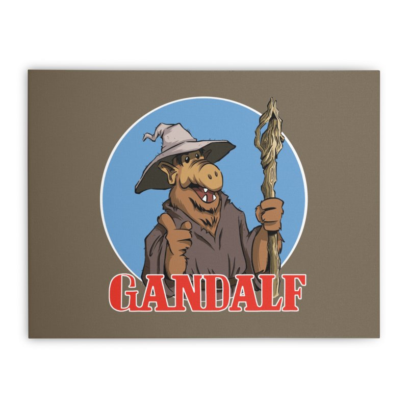 GandAlf Home Stretched Canvas by westinchurch's Artist Shop