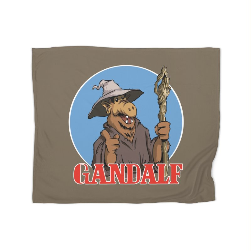 GandAlf Home Blanket by westinchurch's Artist Shop