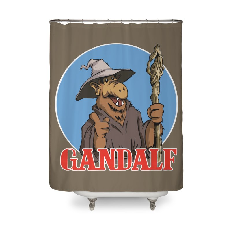GandAlf Home Shower Curtain by westinchurch's Artist Shop