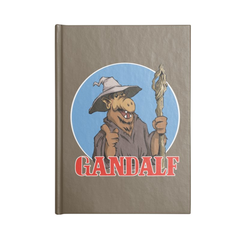 GandAlf Accessories Notebook by westinchurch's Artist Shop