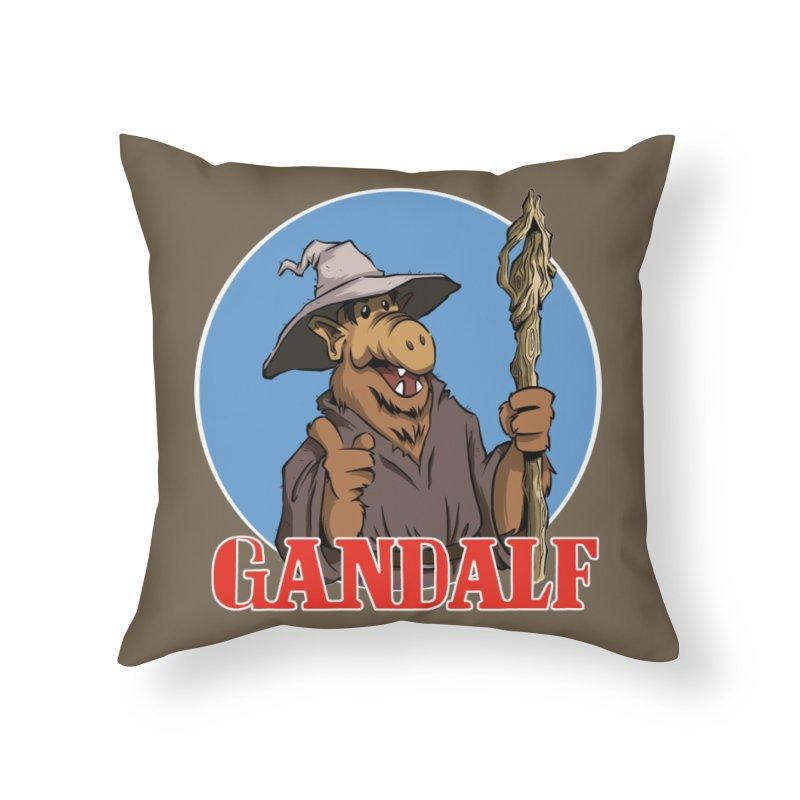 GandAlf Home Throw Pillow by westinchurch's Artist Shop