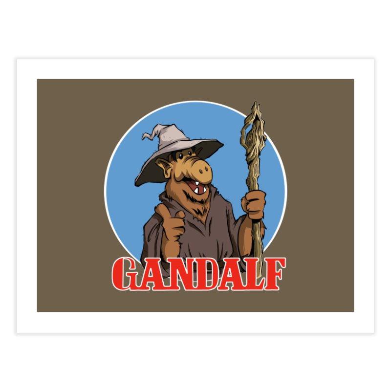 GandAlf Home Fine Art Print by westinchurch's Artist Shop