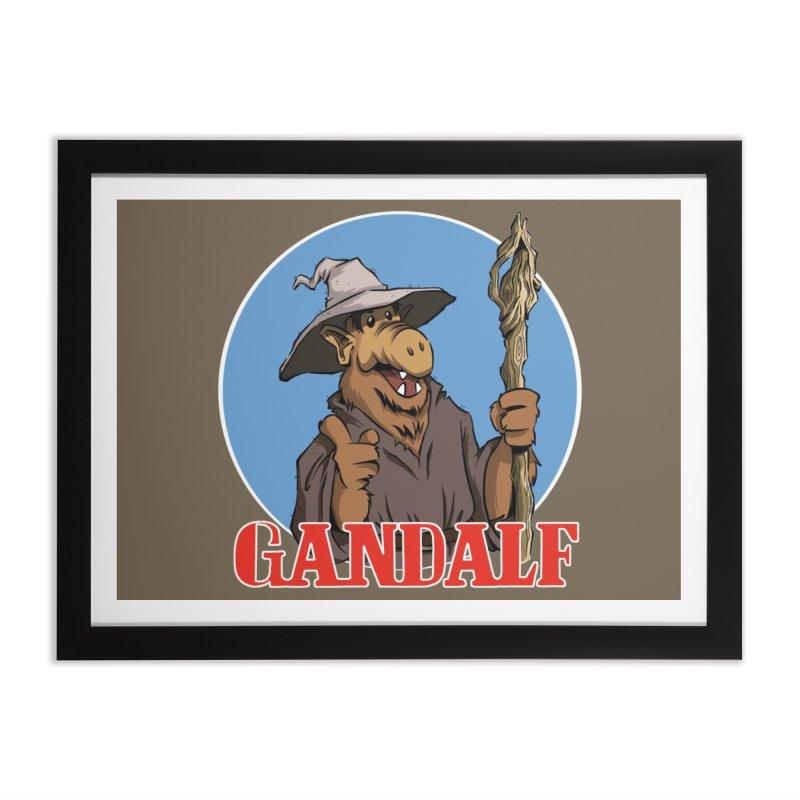 GandAlf Home Framed Fine Art Print by westinchurch's Artist Shop