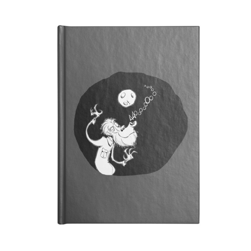 Wolfman Accessories Notebook by westinchurch's Artist Shop