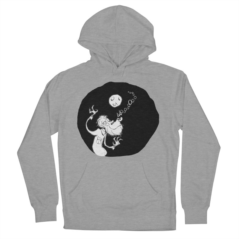Wolfman Men's Pullover Hoody by westinchurch's Artist Shop