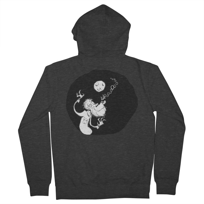 Wolfman Men's Zip-Up Hoody by westinchurch's Artist Shop