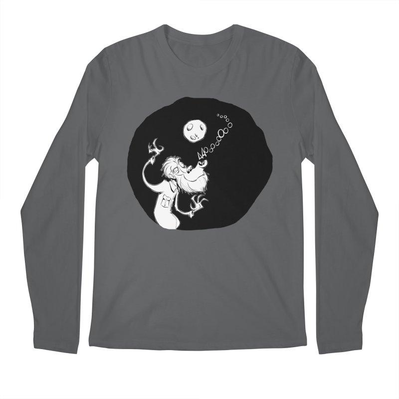 Wolfman Men's Longsleeve T-Shirt by westinchurch's Artist Shop