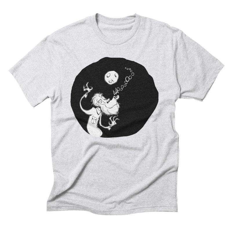 Wolfman Men's Triblend T-Shirt by westinchurch's Artist Shop