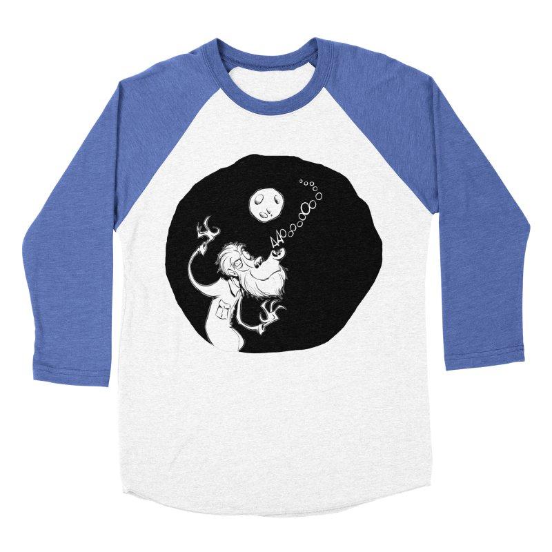 Wolfman Men's Baseball Triblend T-Shirt by westinchurch's Artist Shop