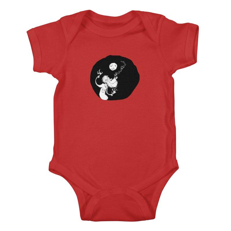 Wolfman Kids Baby Bodysuit by westinchurch's Artist Shop