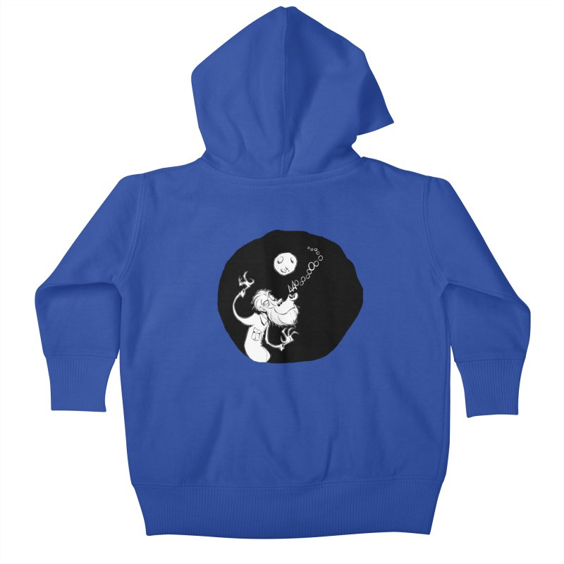Wolfman Kids Baby Zip-Up Hoody by westinchurch's Artist Shop