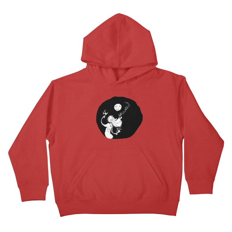 Wolfman Kids Pullover Hoody by westinchurch's Artist Shop