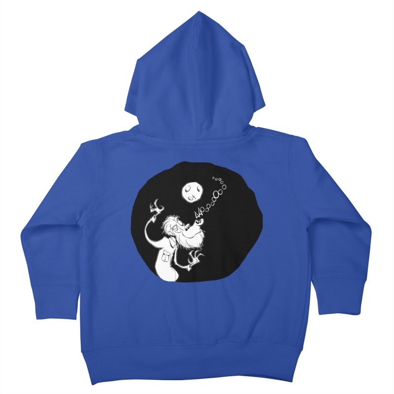 Wolfman Kids Toddler Zip-Up Hoody by westinchurch's Artist Shop