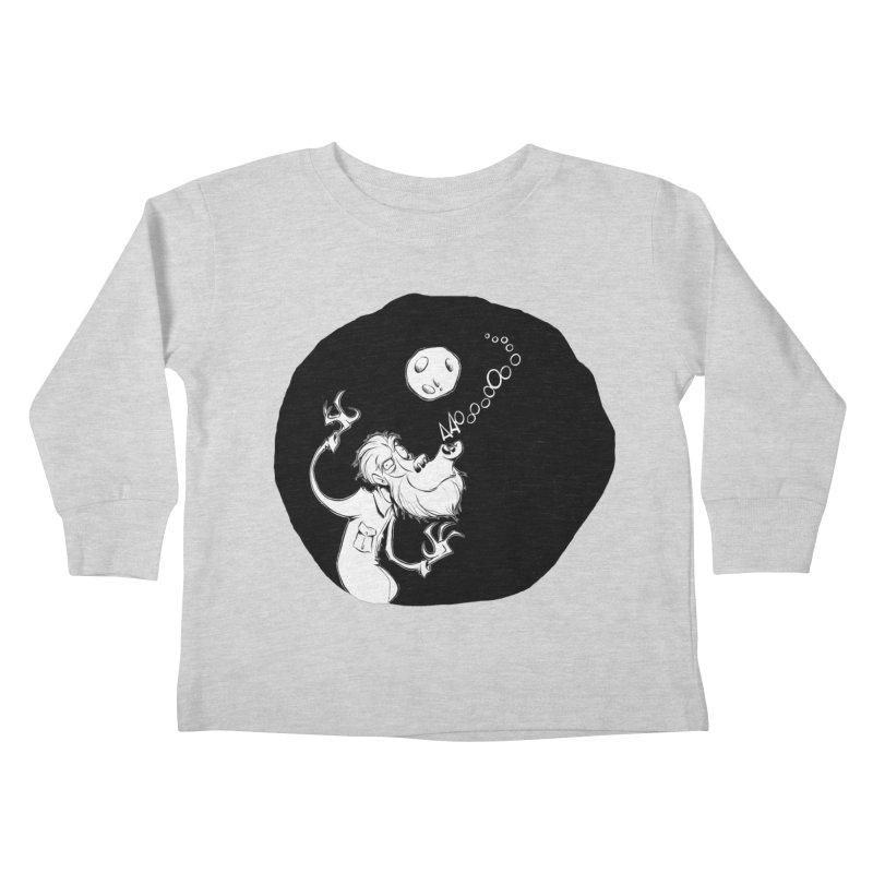 Wolfman Kids Toddler Longsleeve T-Shirt by westinchurch's Artist Shop