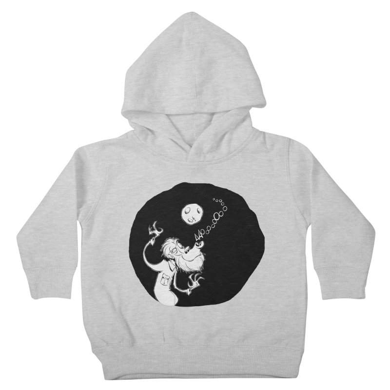 Wolfman Kids Toddler Pullover Hoody by westinchurch's Artist Shop