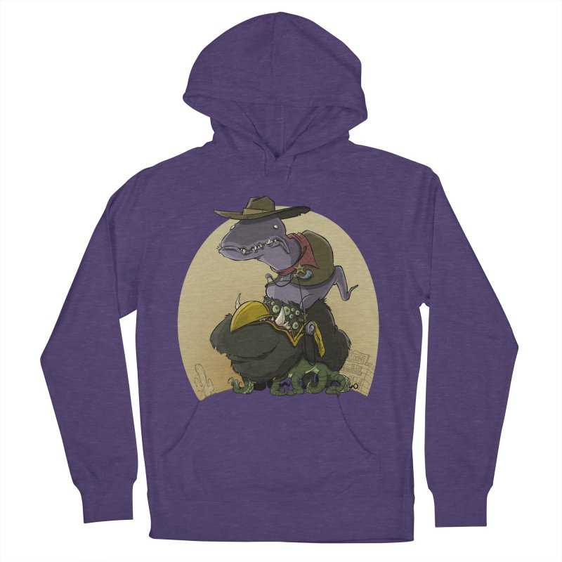 Jurassic Sheriff Men's Pullover Hoody by westinchurch's Artist Shop