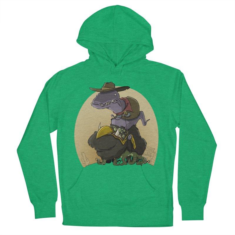 Jurassic Sheriff Men's Pullover Hoody by westinchurch's Artist Shop