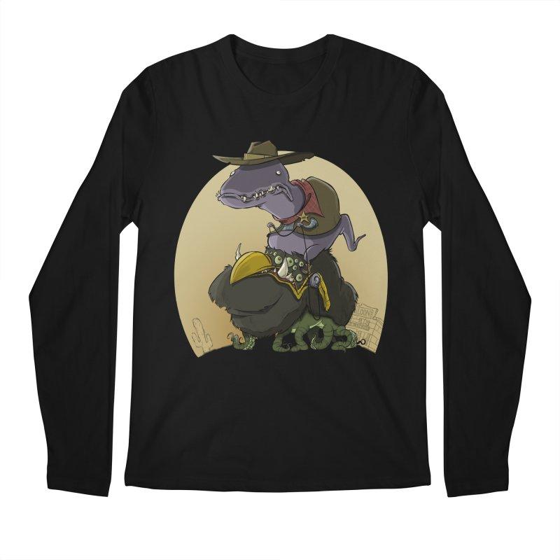 Jurassic Sheriff Men's Longsleeve T-Shirt by westinchurch's Artist Shop