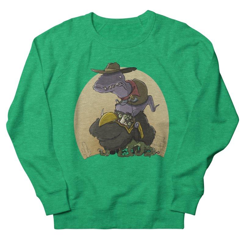 Jurassic Sheriff Men's Sweatshirt by westinchurch's Artist Shop