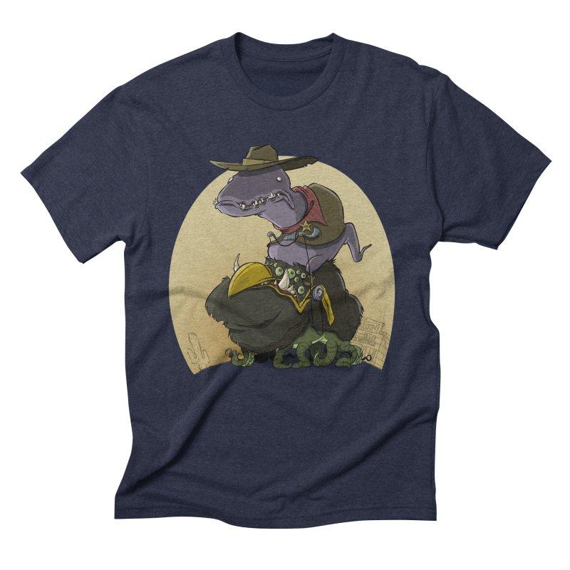 Jurassic Sheriff Men's Triblend T-Shirt by westinchurch's Artist Shop