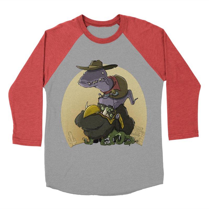 Jurassic Sheriff Women's Baseball Triblend T-Shirt by westinchurch's Artist Shop