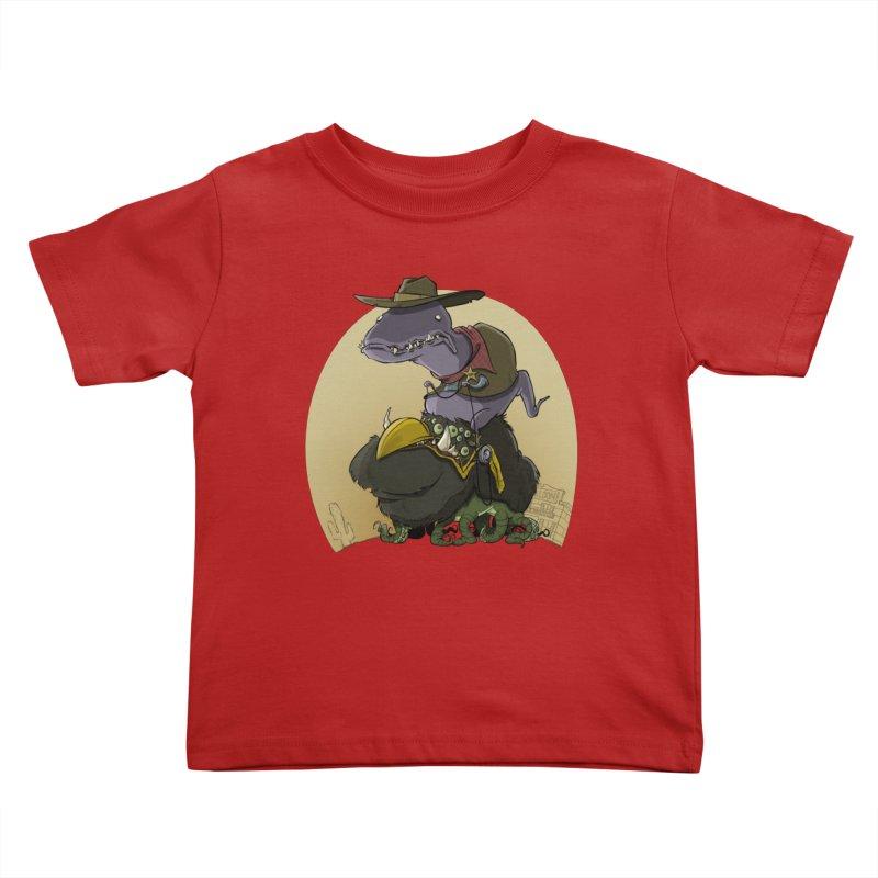 Jurassic Sheriff Kids Toddler T-Shirt by westinchurch's Artist Shop