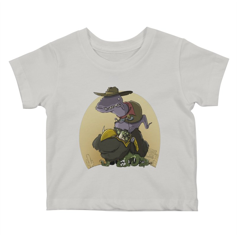Jurassic Sheriff Kids Baby T-Shirt by westinchurch's Artist Shop
