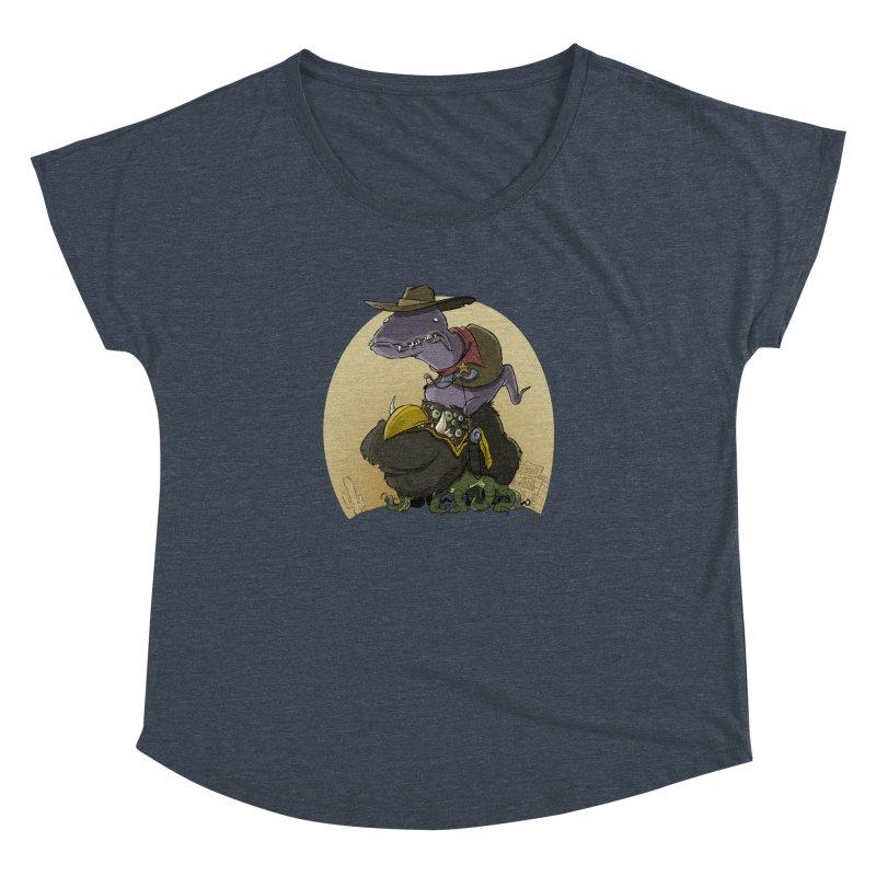 Jurassic Sheriff Women's Dolman by westinchurch's Artist Shop