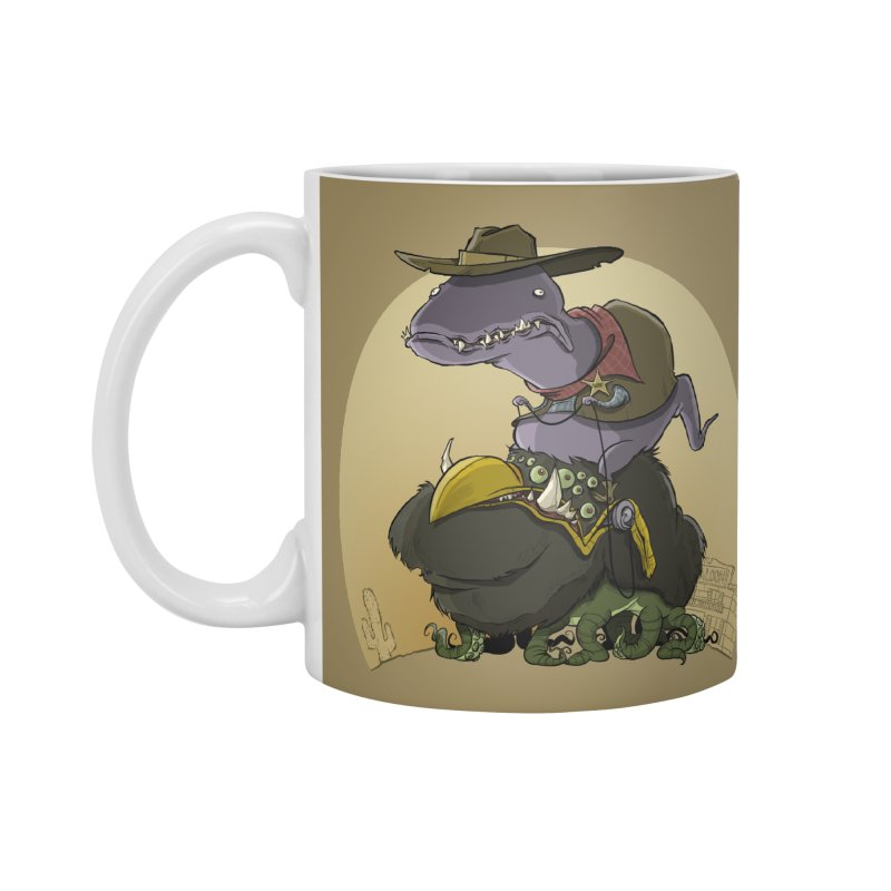Jurassic Sheriff Accessories Mug by westinchurch's Artist Shop