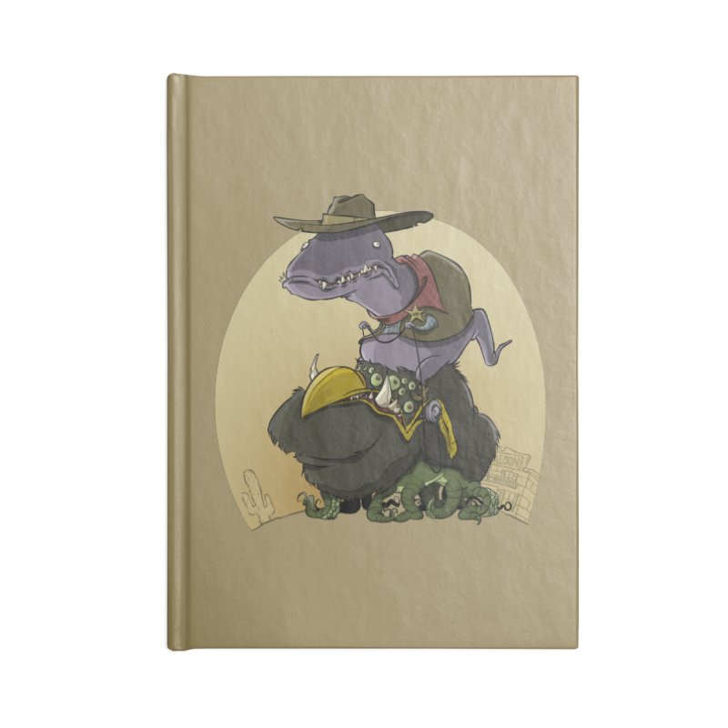 Jurassic Sheriff Accessories Notebook by westinchurch's Artist Shop