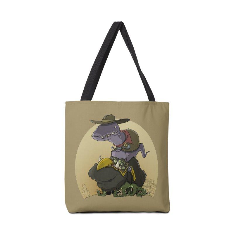 Jurassic Sheriff Accessories Bag by westinchurch's Artist Shop